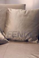 Coussin Logo Fendi Casa